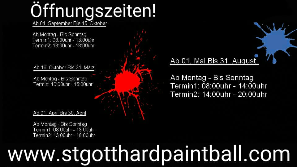 StGotthard Paintball